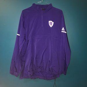 Adidas brand - Holy cross college sports jacket!